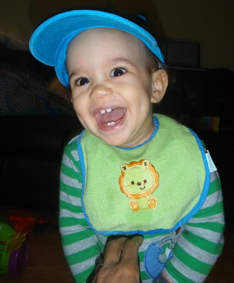 big smile baby