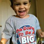 Wordless Wednesday: Rohan's Big Announcement