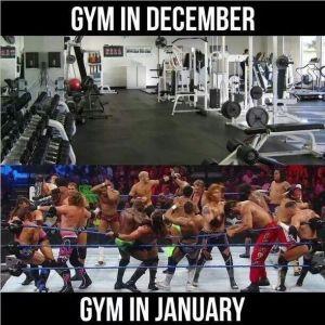 december gym january gym