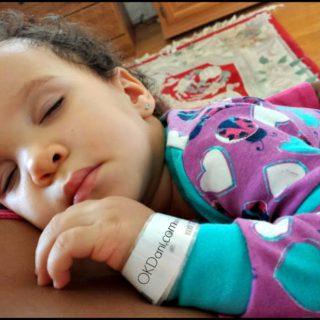 sweet sleeping baby okdani