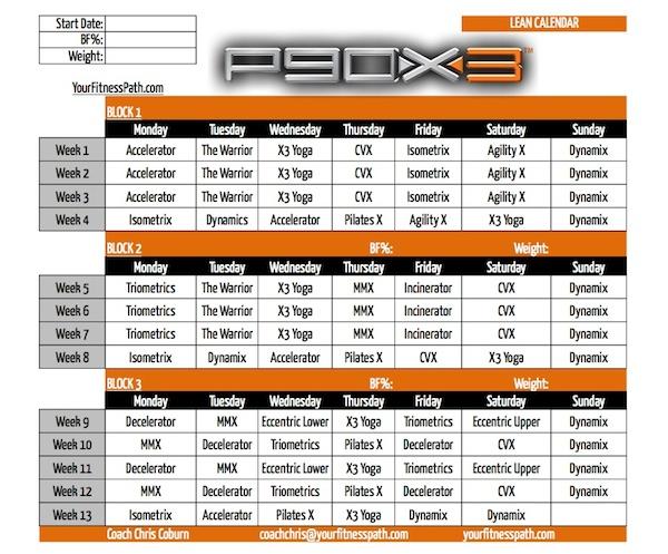 P90X3_Calendar_Lean