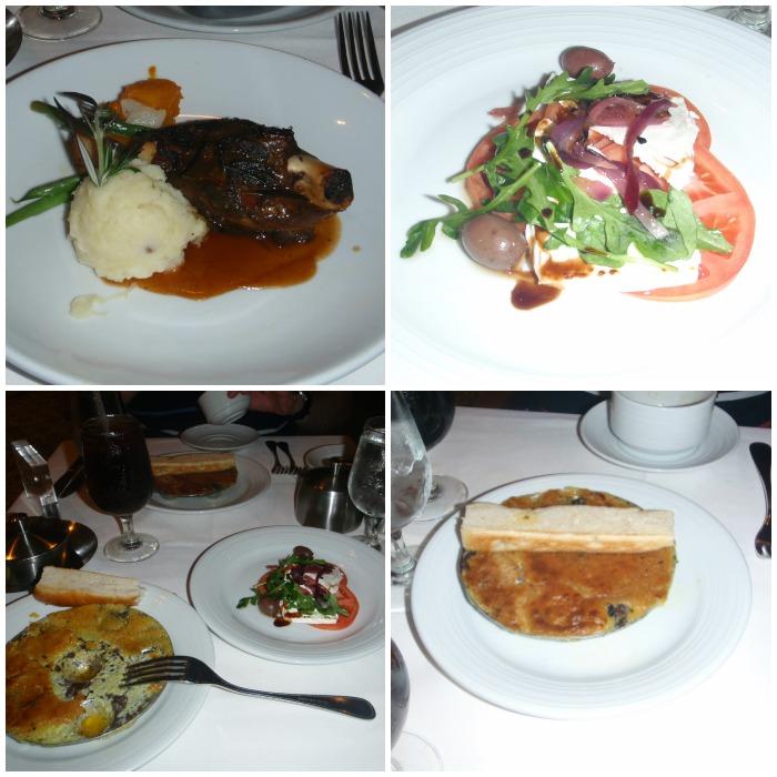 dinner on cruise