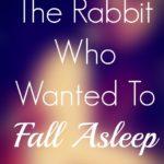 Avoiding Abuse ….or… The Magic Sleep Book
