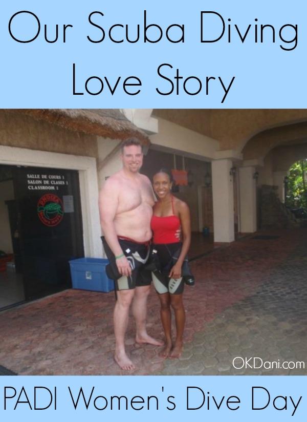scuba couple