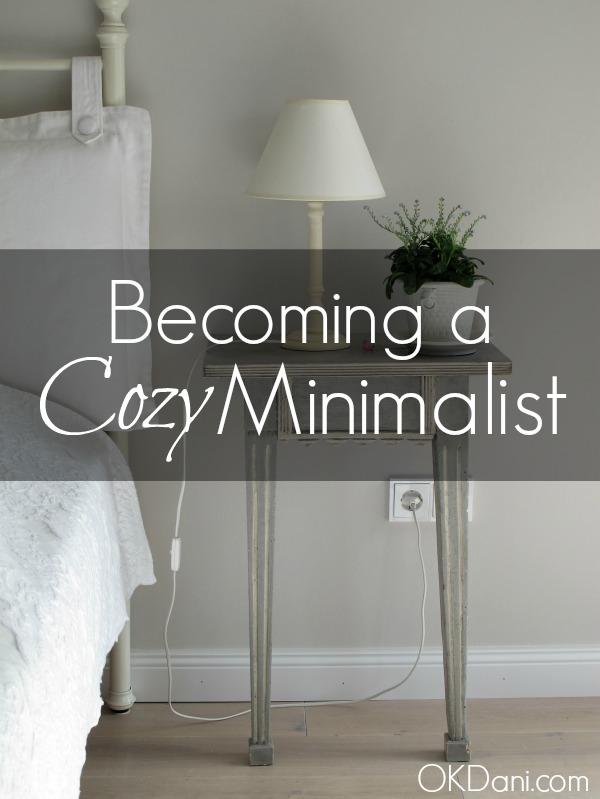 cozy minimalist okdani blog