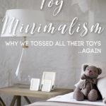 Toy Minimalism: I Threw Away All Their Toys (Again!)