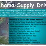 Bahamas Relief – Hurricane Dorian