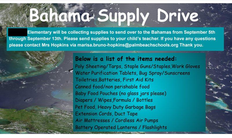 bahamas relief hurricane dorian
